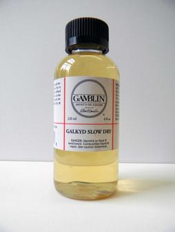 Gamblin 4oz Galkyd Slow Dry Medium