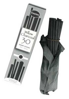 P.H. Coates Willow Charcoal Assorted 30pk
