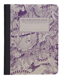 Michael Roger Press Decomposition Ruled Notebook Rainforest