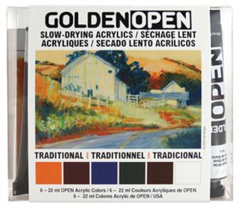 Golden Open Acrylic Intro Set Traditional