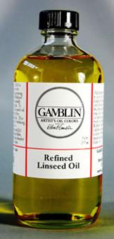 Gamblin Linseed Refined 8oz