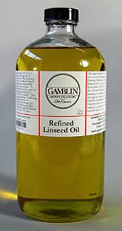 Gamblin Linseed Refined 32oz