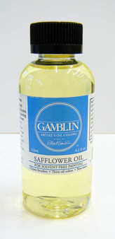 Gamblin Solvent-Free Safflower Oil Medium 4oz