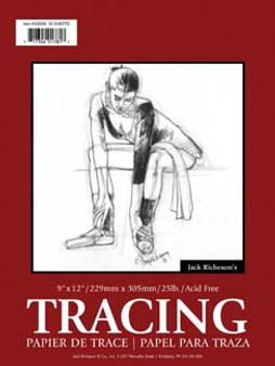 Jack Richeson Tracing Pad 9x12