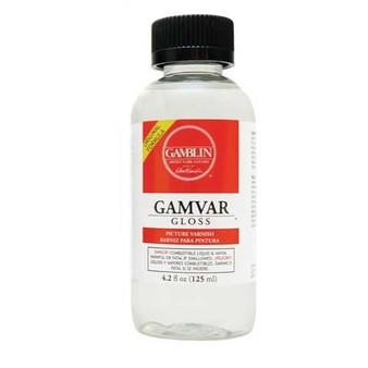 Gamblin Gamvar Oil Based Varnish Original Gloss 4oz.
