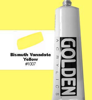 Golden Artist Colors Heavy Body Acrylic 2oz Bismuth Vanadate Yellow