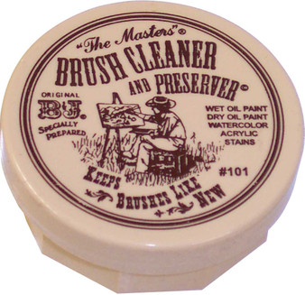 Master's Brush Cleaner 2.5oz Jar