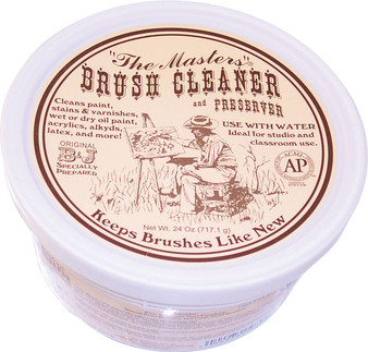 Master's Brush Cleaner 24oz Tub