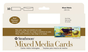 Strathmore Card Slim 5x7 Mixed Media 10pk