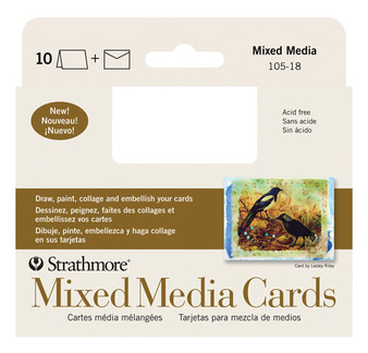 Strathmore Announcement Cards Mixed Media 10pk