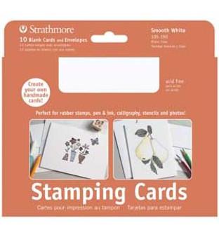 Strathmore Stamping Cards Smooth 5x7 10pk