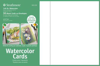 Strathmore Watercolor Cards 5x7 50pk