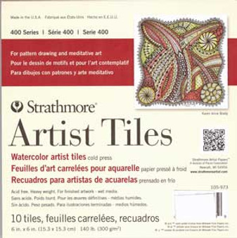 Strathmore Artist Tiles Watercolor 6x6