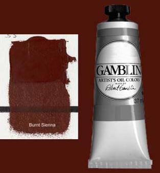 Gamblin Artists Oil Color 37ml Series 1: Burnt Sienna