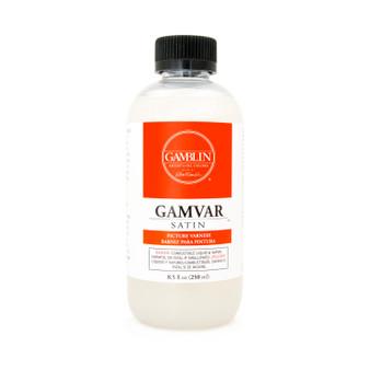 Gamblin Gamvar Oil Based Varnish Satin 8.5oz.