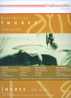 Hahnemuhle Ingres Pastel Pad 100gsm 20sh 9.5x12 Pad