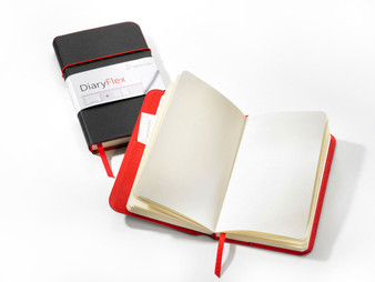 """Hahnemuhle Diary Flex Book 7.5x4.4"""" 80 Sheets Blank"""