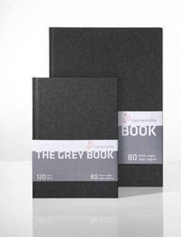 "Hahnemuhle Grey Book 6x8"" 40 Sheets"