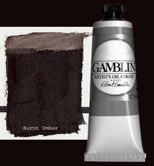 Gamblin Artists Oil Color 37ml Series 1: Burnt Umber