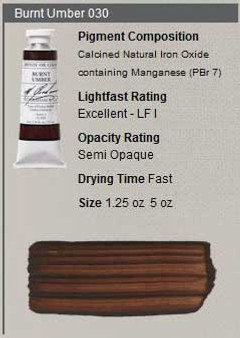 M. Graham Oil 1.25oz Series 1: Burnt Umber