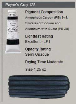 M. Graham Oil 1.25oz Series 1: Paynes Gray