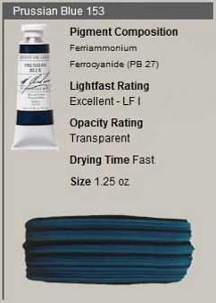 M. Graham Oil 1.25oz Series 1: Prussian Blue