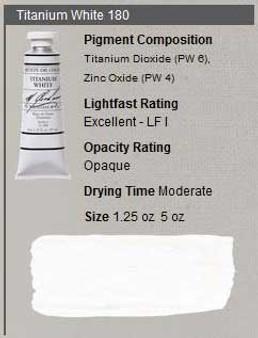 M. Graham Oil 1.25oz Series 1: Titanium White