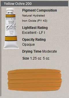M. Graham Oil 1.25oz Series 1: Yellow Ochre