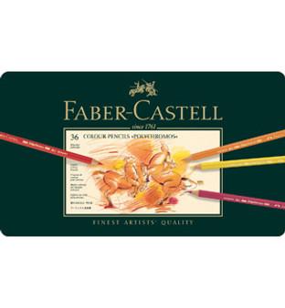 Faber-Castell Polychromos Pencil Tin Set 36