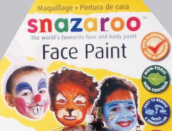 Snazaroo Face Paint 18ml Light Grey