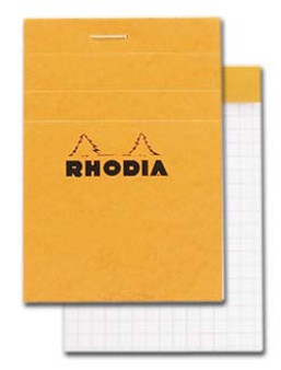 Rhodia Classic Stapled Topbound 3x4 Grid
