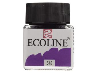 Talens Ecoline Liquid Watercolor 30ml Jar Blue Violet