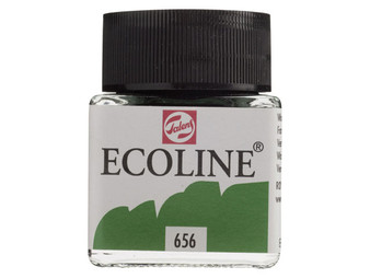 Talens Ecoline Liquid Watercolor 30ml Jar Forest Green
