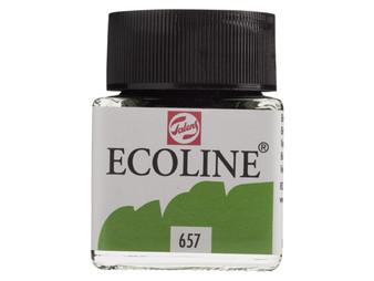 Talens Ecoline Liquid Watercolor 30ml Jar Bronze Green