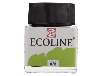 Talens Ecoline Liquid Watercolor 30ml Jar Grass Green