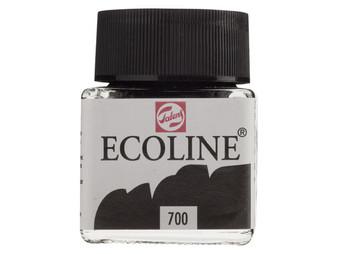 Talens Ecoline Liquid Watercolor 30ml Jar Black