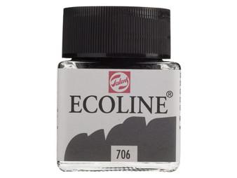 Talens Ecoline Liquid Watercolor 30ml Jar Deep Grey