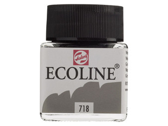 Talens Ecoline Liquid Watercolor 30ml Jar Warm Grey