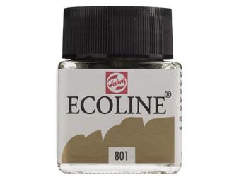 Talens Ecoline Liquid Watercolor 30ml Jar Gold
