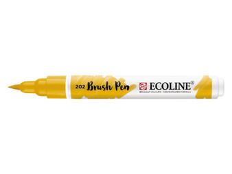 Talens Ecoline Watercolor Brush Pen Deep Yellow
