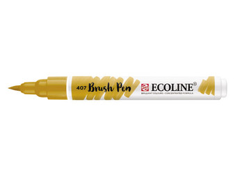 Talens Ecoline Watercolor Brush Pen Deep Ochre