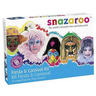 Snazaroo Face Paint Rainbow Palette Kit