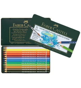 Faber-Castell Albrecht Durer Watercolor Pencil Set 12