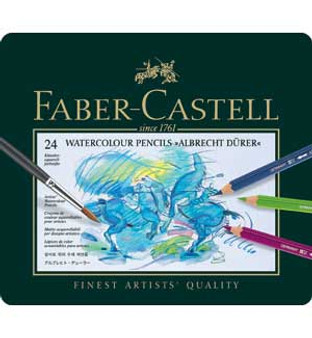 Faber-Castell Albrecht Durer Watercolor Pencil Set 24