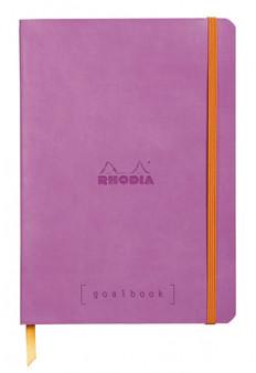 "Rhodia Goalbook 6x8.25"" Dot Lilac"