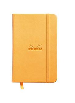 Rhodia Webnotebook Dot 3.5x5.5 Orange Cover