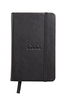 Rhodia Webnotebook Dot 3.5x5.5 Black Cover