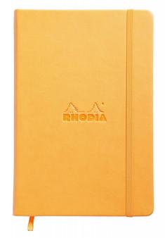 Rhodia Webnotebook Dot 5.5x8.5 Orange Cover