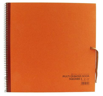 Holbein Drawing Pad 12x12 Rust