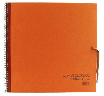 Holbein Drawing Pad 10x10 Rust